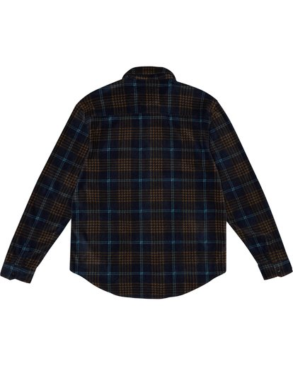 6 Furnace Flannel - Polarfleece Flannelhemd für Herren Blau S1SH12BIP0 Billabong