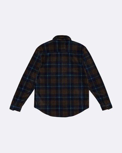 4 Furnace Flannel - Polarfleece Flannelhemd für Herren Blau S1SH12BIP0 Billabong
