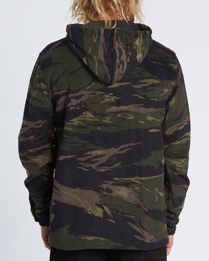 1 Furnace Anorak - Fleecehemd mit Kapuze für Herren Gemustert S1SH13BIP0 Billabong