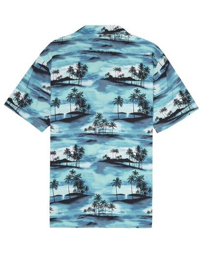 3 Vacay - Kurzärmliges Hemd für Männer Blau S1SH14BIP0 Billabong