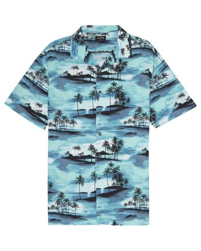 2 Vacay - Kurzärmliges Hemd für Männer Blau S1SH14BIP0 Billabong