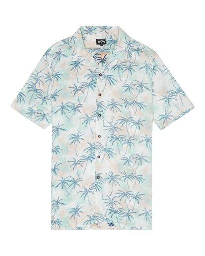 2 Vacay - Camisa de Manga Corta para Hombre Multicolor S1SH14BIP0 Billabong