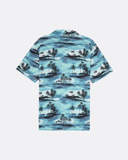 1 Vacay - Kurzärmliges Hemd für Männer Blau S1SH14BIP0 Billabong