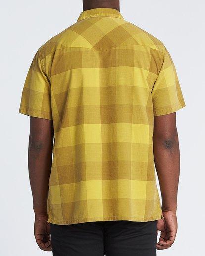 1 Four Doors - Camisa de manga corta para Hombre Amarillo S1SH15BIP0 Billabong