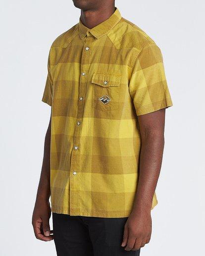 2 Four Doors - Camisa de manga corta para Hombre Amarillo S1SH15BIP0 Billabong