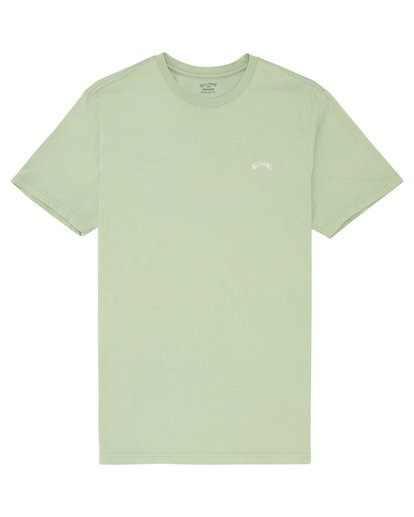 2 Arch Washed - Camiseta para Hombre Verde S1SS02BIP0 Billabong