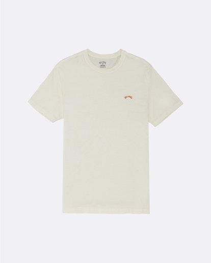 0 Arch Washed - T-Shirt for Men White S1SS02BIP0 Billabong