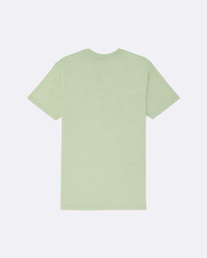 1 Arch Washed - Camiseta para Hombre Verde S1SS02BIP0 Billabong