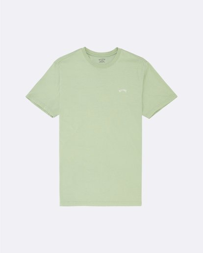 0 Arch Washed - Camiseta para Hombre Verde S1SS02BIP0 Billabong