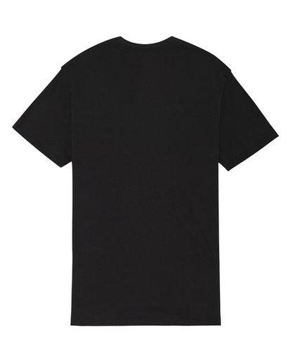 3 State Beach - Camiseta para Hombre Negro S1SS03BIP0 Billabong