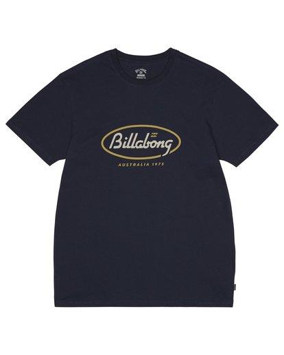 2 State Beach - Camiseta para Hombre Azul S1SS03BIP0 Billabong