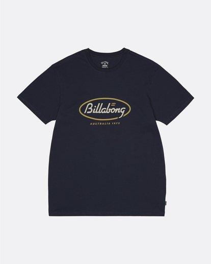 0 State Beach - Camiseta para Hombre Azul S1SS03BIP0 Billabong