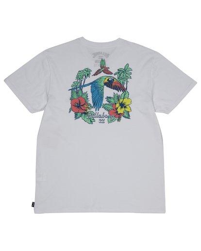 3 Parrot Bay - Camiseta para Hombre Blanco S1SS07BIP0 Billabong