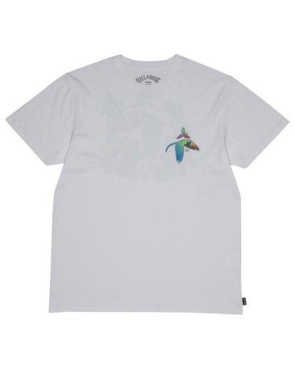 2 Parrot Bay - Camiseta para Hombre Blanco S1SS07BIP0 Billabong