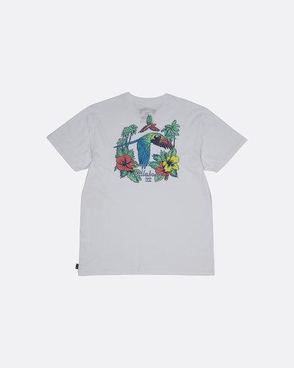 1 Parrot Bay - Camiseta para Hombre Blanco S1SS07BIP0 Billabong