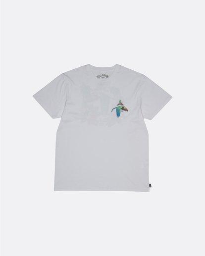 0 Parrot Bay - Camiseta para Hombre Blanco S1SS07BIP0 Billabong