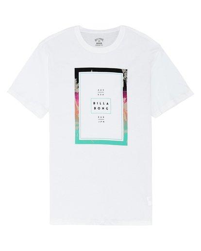 2 Tucked - Camiseta para Hombre Blanco S1SS11BIP0 Billabong
