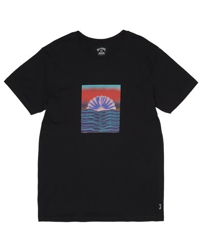 2 Sunset Tripper - Camiseta para Hombre Negro S1SS17BIP0 Billabong