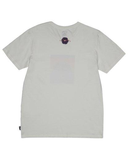 3 Sunset Tripper - Camiseta para Hombre Blanco S1SS17BIP0 Billabong