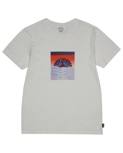 2 Sunset Tripper - Camiseta para Hombre Blanco S1SS17BIP0 Billabong