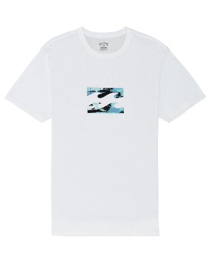 2 Team Wave - Camiseta para Hombre Blanco S1SS20BIP0 Billabong