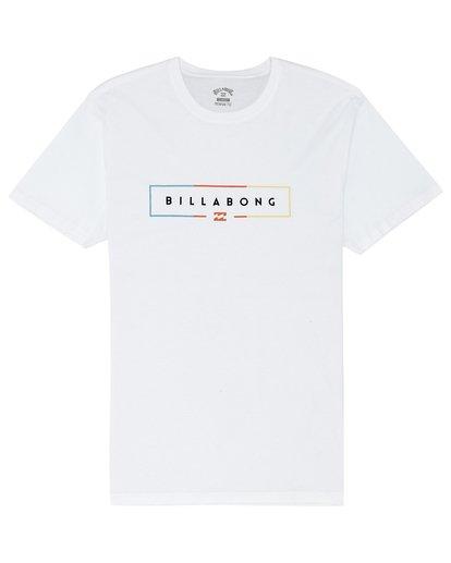0 Unity - T-Shirt for Men White S1SS26BIP0 Billabong