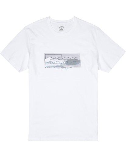 2 Inverse - T-Shirt für Herren Weiss S1SS28BIP0 Billabong