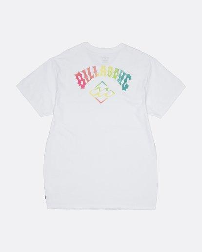 1 Bunker - Camiseta para Hombre Blanco S1SS33BIP0 Billabong