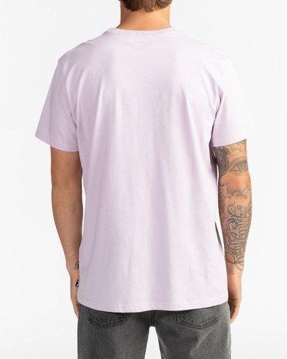 6 Arch - T-Shirt für Herren Violett S1SS38BIP0 Billabong