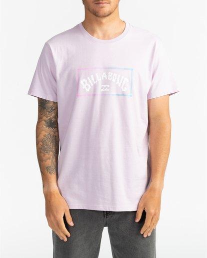 3 Arch - T-Shirt für Herren Violett S1SS38BIP0 Billabong