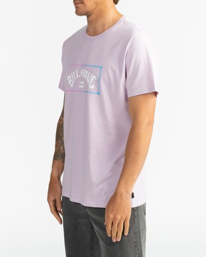 4 Arch - T-Shirt für Herren Violett S1SS38BIP0 Billabong