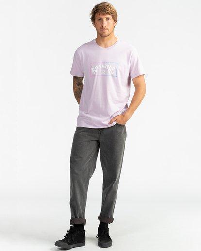 5 Arch - T-Shirt für Herren Violett S1SS38BIP0 Billabong