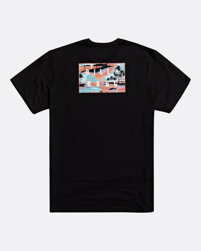 1 Die Cut - Camiseta para Hombre Negro S1SS42BIP0 Billabong