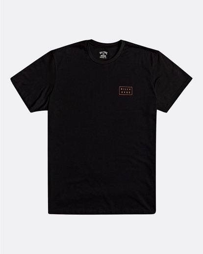 0 Die Cut - Camiseta para Hombre Negro S1SS42BIP0 Billabong