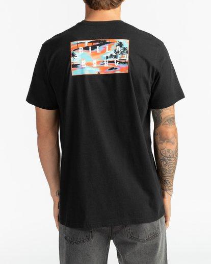 5 Die Cut - Camiseta para Hombre Negro S1SS42BIP0 Billabong