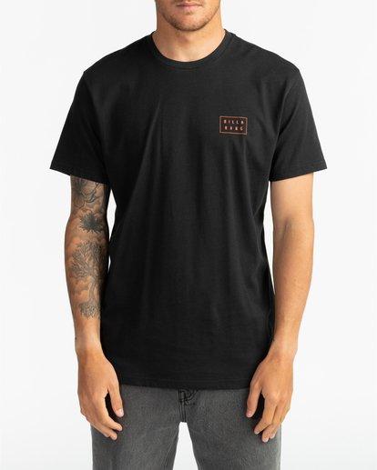 2 Die Cut - Camiseta para Hombre Negro S1SS42BIP0 Billabong
