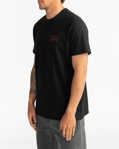 3 Die Cut - Camiseta para Hombre Negro S1SS42BIP0 Billabong
