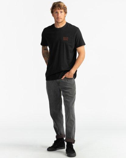 4 Die Cut - Camiseta para Hombre Negro S1SS42BIP0 Billabong