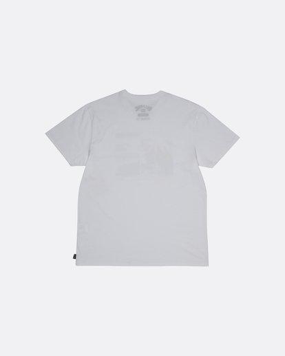 1 Crash - Camiseta para Hombre Blanco S1SS48BIP0 Billabong
