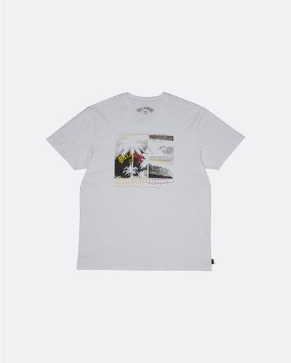 0 Crash - Camiseta para Hombre Blanco S1SS48BIP0 Billabong