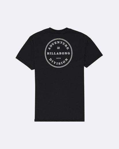 1 Rotor Adiv - T-Shirt pour Homme Noir S1SS53BIP0 Billabong