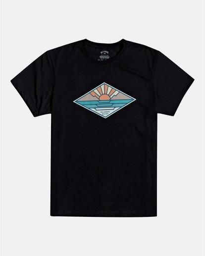 0 A Frame - T-Shirt für Herren Schwarz S1SS54BIP0 Billabong
