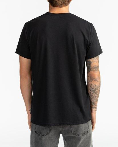 5 A Frame - T-Shirt für Herren Schwarz S1SS54BIP0 Billabong