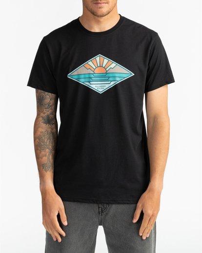 2 A Frame - T-Shirt für Herren Schwarz S1SS54BIP0 Billabong
