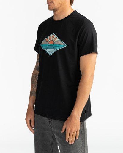 3 A Frame - T-Shirt für Herren Schwarz S1SS54BIP0 Billabong
