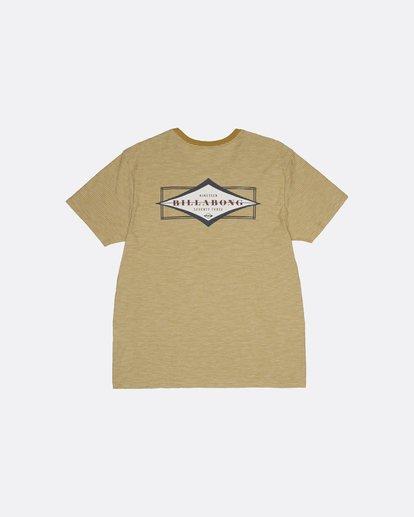 1 Diamond Shaper - T-Shirt for Men Silver S1SS56BIP0 Billabong