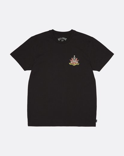 0 Lotus - Camiseta para Hombre Negro S1SS61BIP0 Billabong