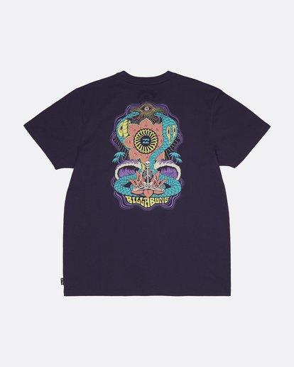 1 Lotus - Camiseta para Hombre Violeta S1SS61BIP0 Billabong