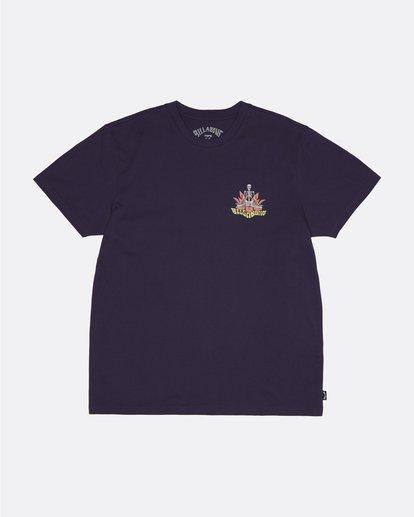 0 Lotus - Camiseta para Hombre Violeta S1SS61BIP0 Billabong