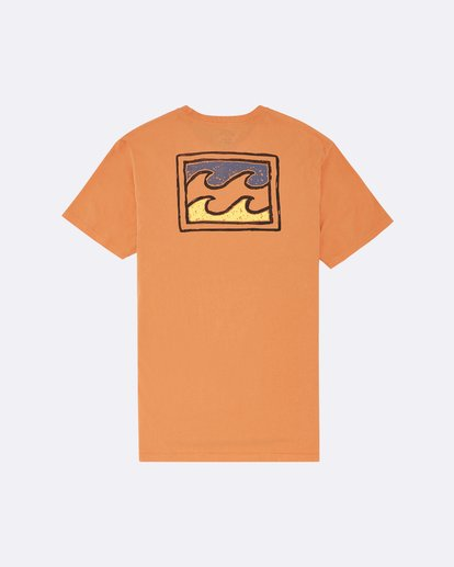1 Warchild - T-Shirt für Herren Orange S1SS62BIP0 Billabong